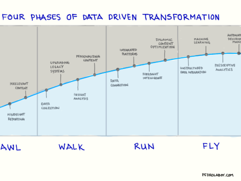 The Four Phases of the Data Driven Enterprise